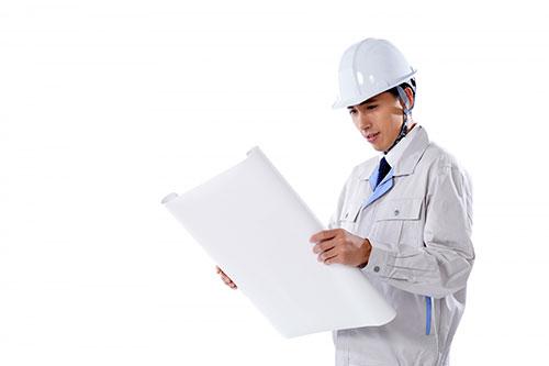 免震構造(装置)工事の流れ1