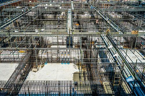 免震構造(装置)工事の流れ5